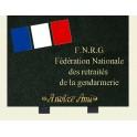 Plaque gendarmerie 30*23