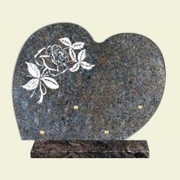 Plaque paradisio avec rose 30*23